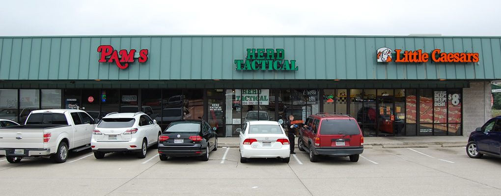 Herd Tactical is now located on Route 60 just off the 29th Street Exit in Huntington, WV